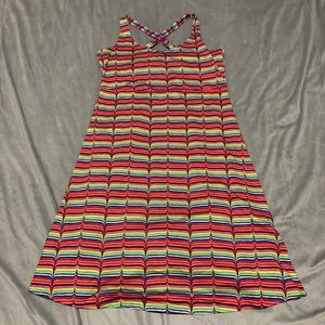 Columbia Rainbow Omni-Wick Dress EUC Size M